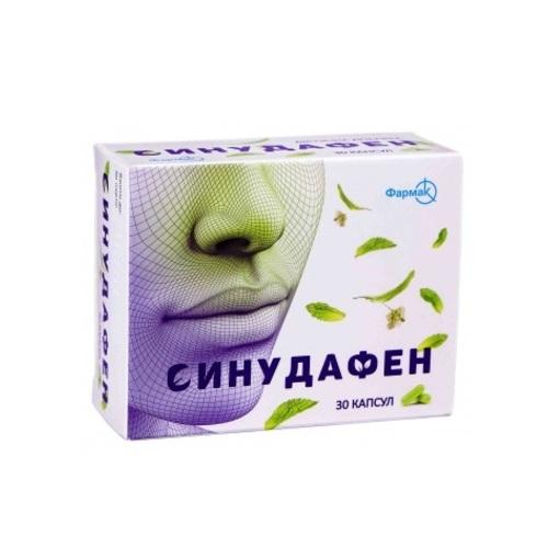 СИНУДАФЕН КАПС. №30 - фото 1 | Сеть аптек Viridis