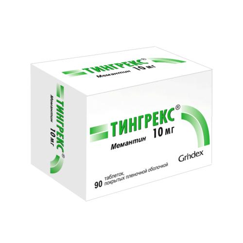 ТИНГРЕКС ТАБ. 10МГ №90 - фото 1   Сеть аптек Viridis