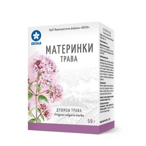 МАТЕРИНКИ ТРАВА 50Г - ВІОЛА ФАРМ.ФАБРИКА ЗАО - фото 1 | Сеть аптек Viridis