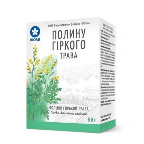 ПОЛИНУ ГІРКОГО ТРАВА 50Г - фото 1   Сеть аптек Viridis