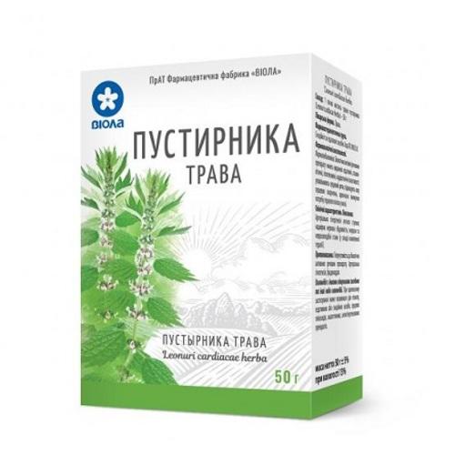 ПУСТИРНИКА ТРАВА 50Г - фото 1 | Сеть аптек Viridis