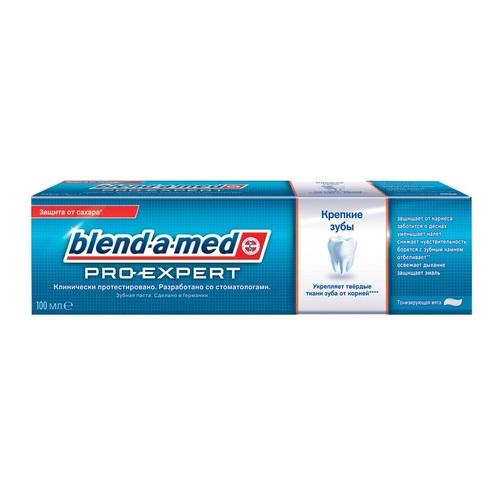 БЛЕНДАМЕД зуб. паста Pro-Expert Крепкие зубы тонизирующая мята 100 мл - фото 1   Сеть аптек Viridis