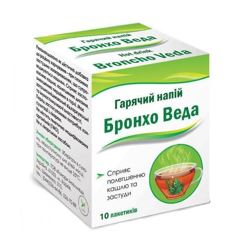 БРОНХО ВЕДА ГОРЯЧИЙ НАПИТОК №10 - фото 1 | Сеть аптек Viridis