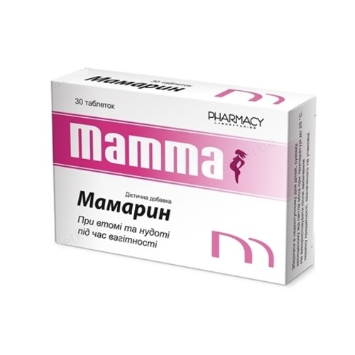 МАМАРИН ТАБЛ. №30 - фото 1   Сеть аптек Viridis