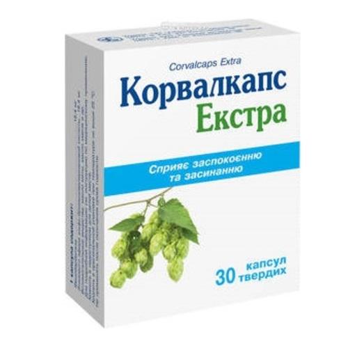 КОРВАЛКАПС ЭКСТРА КАПС.ТВ.№30 - фото 1 | Сеть аптек Viridis