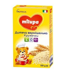 МИЛУПА Вермишелька детская Кружочки с 10 мес. 320г