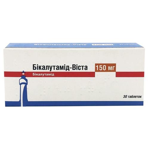 БІКАЛУТАМІД ТАБ. 150МГ №30 - фото 1 | Сеть аптек Viridis