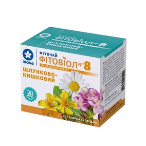ФИТОЧАЙ ФИТОВИОЛ №8 ЖЕЛУДОЧНО-КИШЕЧНЫЙ 1,5г №20