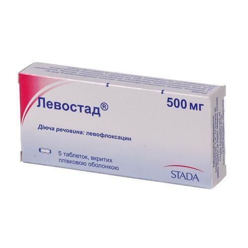 ЛЕВОСТАД ТАБ. 500МГ №5 - фото 1   Сеть аптек Viridis