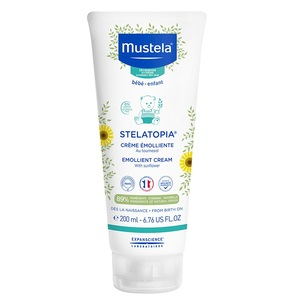 МУСТЕЛА Крем-емульсія зволожуюча для шкіри 200мл - Stelatopia Emollient Cream