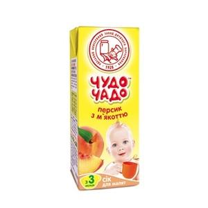 ЧУДО-ЧАДО Сік Персик 200мл