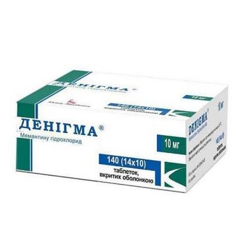 ДЕНІГМА ТАБ. 10МГ №140 - фото 1 | Сеть аптек Viridis