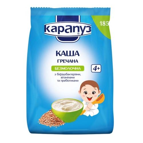 Карапуз Каша гречана з біфідобактеріями та вітамінами 185 г - фото 1 | Сеть аптек Viridis