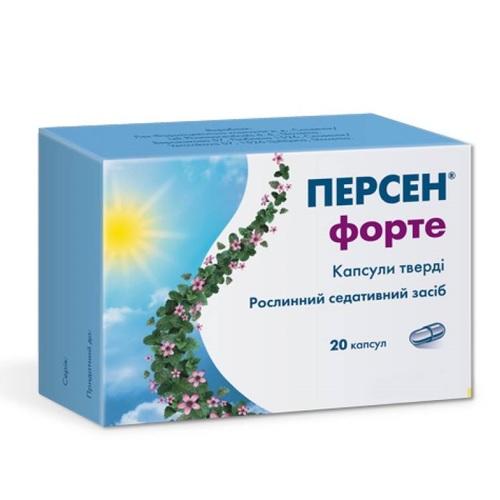 ПЕРСЕН ФОРТЕ КАПС. №20 - САНДОЗ д.д. - фото 1 | Сеть аптек Viridis