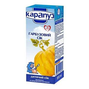 КАРАПУЗ Сок Тыквенный 200 г