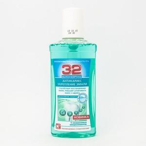 32 БИОНОРМА Опол. д/рта Защита от кариеса 250мл
