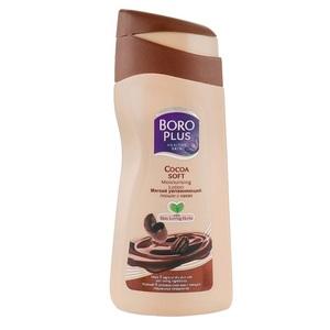 БОРОПЛЮС Лосьон для тела увлажняющий с маслом какао 200мл