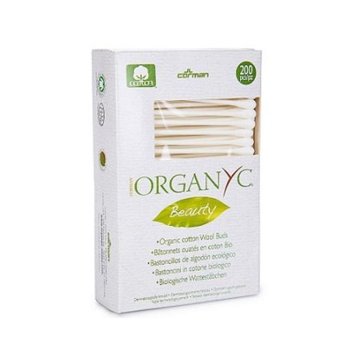 ОРГАНІК Гігієнічні ватні палички бавовняні органічні 200шт - фото 1 | Сеть аптек Viridis