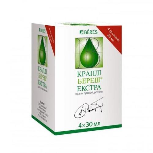 КРАПЛІ БЕРЕШ ЕКСТРА 30МЛ №4 - фото 1   Сеть аптек Viridis