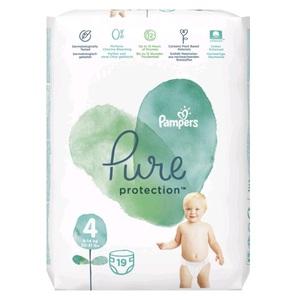 ПАМПЕРС Дет. подгуз. Pure Protection Maxi (9-14кг)  №19