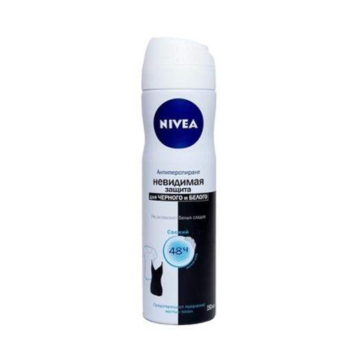 НИВЕЯ Дезодорант спрей д/женщин Invisible Pure Невидимая защита 150мл - фото 1   Сеть аптек Viridis