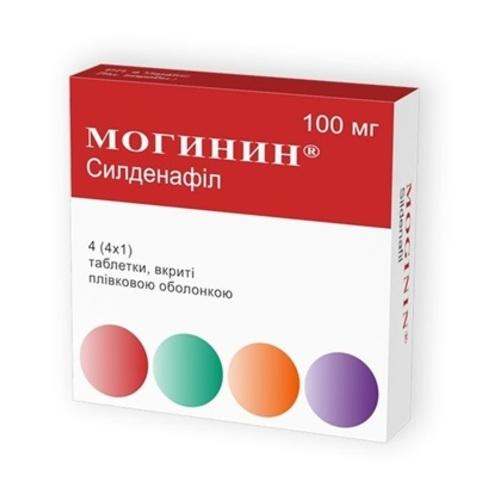 МОГИНИН ТАБ. 100МГ №4