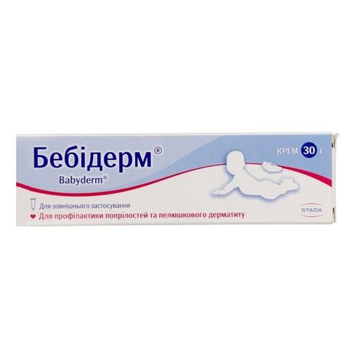 БЕБИДЕРМ КРЕМ 30Г ТУБА#1 - фото 1 | Сеть аптек Viridis