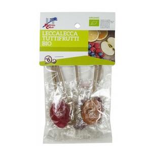 Ла Финестра Льодяники фруктові органічні LOLLYPOPS 50г  La Finestra Італія