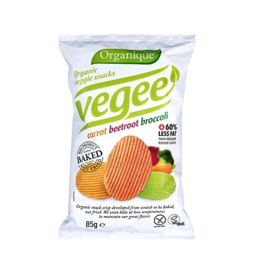 ЧИПСЫ картофельные с овощами McLLOYD'S органические, 85г