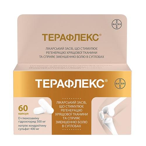 ТЕРАФЛЕКС КАПС. №60 - фото 1 | Сеть аптек Viridis