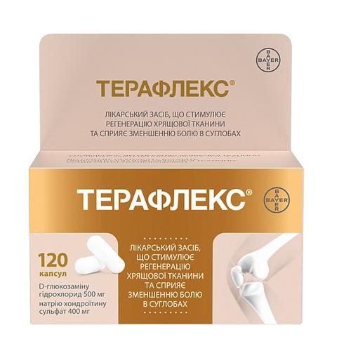 ТЕРАФЛЕКС КАПС. №120 - фото 1 | Сеть аптек Viridis