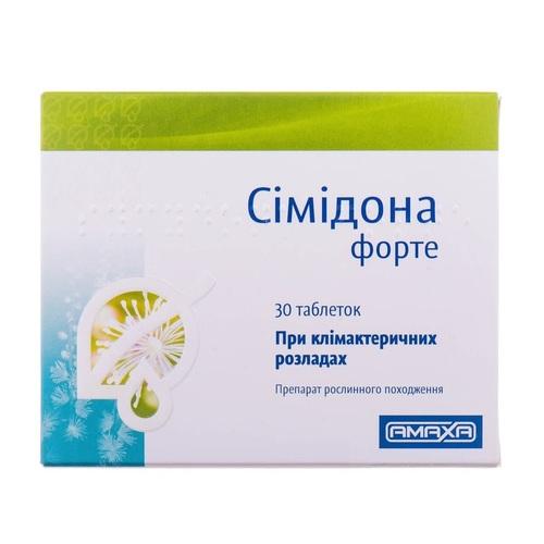 СИМИДОНА ФОРТЕ ТАБ. 13МГ №30 - фото 1 | Сеть аптек Viridis