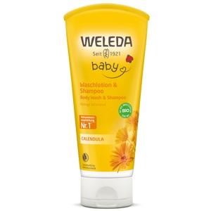 ВЕЛЕДА Календула детский шампунь-гель для волос и тела 200мл