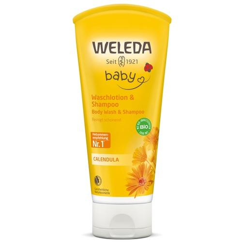 ВЕЛЕДА Календула детский шампунь-гель для волос и тела 200мл - фото 1 | Сеть аптек Viridis