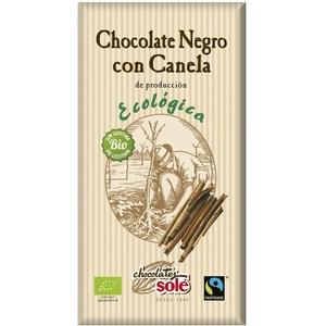 Соле Шоколад темний 56% какао з корицею органичний  100 гр