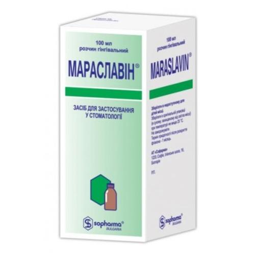 МАРАСЛАВИН Р-Р 100МЛ НДС - фото 1 | Сеть аптек Viridis