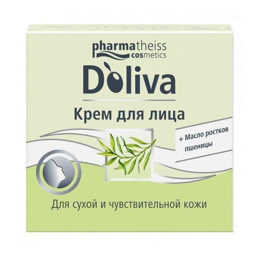 ДОЛИВА Крем для лица для чувствительной кожи 50мл - фото 1 | Сеть аптек Viridis