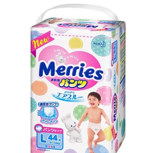 МЭРРИЕС Трусики-подгузники для детей L (9-14кг) 44шт купить в Ирпене