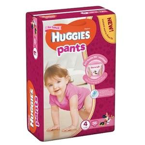 ХАГИС подгуз.-трусики Pants 4 (9-14кг) 36шт для девочек