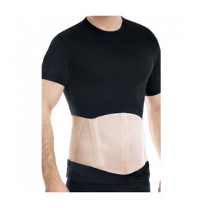 БАНДАЖ протигрижовий пупковий з ребрами жорсткості (бежевий) розмір 3 (101-110)