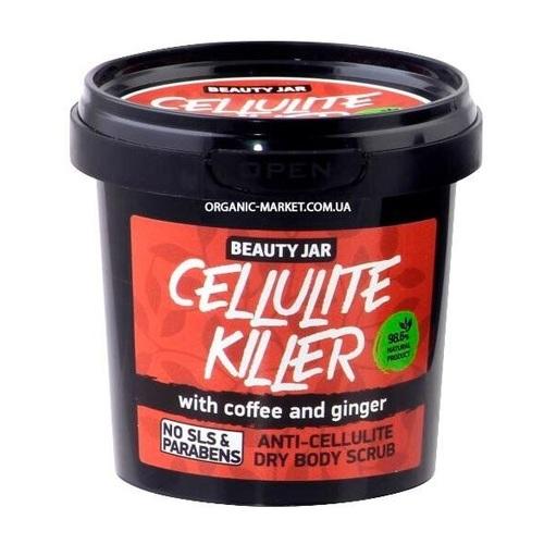 БЬЮТІ ДЖАР Скраб для тіла антицелюлітний Cellulite Killer 150гр - фото 1 | Сеть аптек Viridis