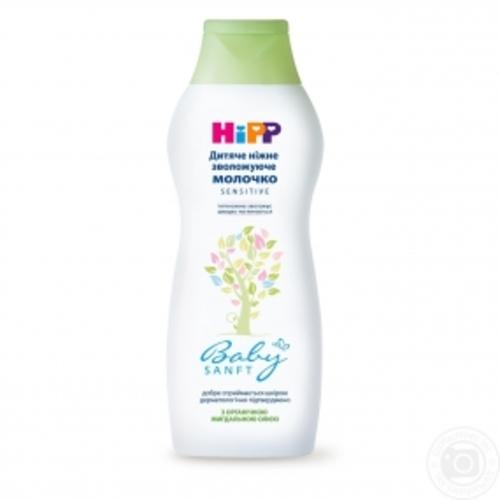 ХИПП Молочко нежное увлаж. для новорожд. с органическим миндальным маслом 350мл