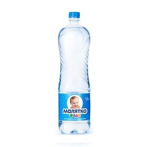ЭКОНИЯ Малятко питьевая вода 1,5л