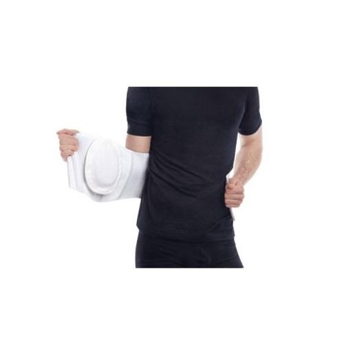 БАНДАЖ противогрыжевый пупочный с ребрами жесткости (бежевый) размер 2 (91-100)