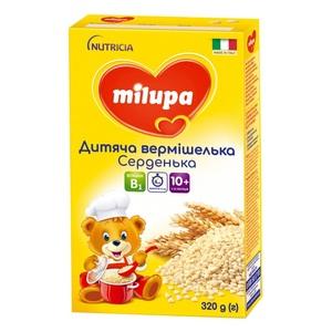 МИЛУПА Вермишелька детская Сердечки с 10 мес. 320г
