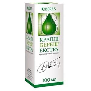БЕРЕШ ЭКСТРАКТ КАПЛИ ФЛ. 100МЛ