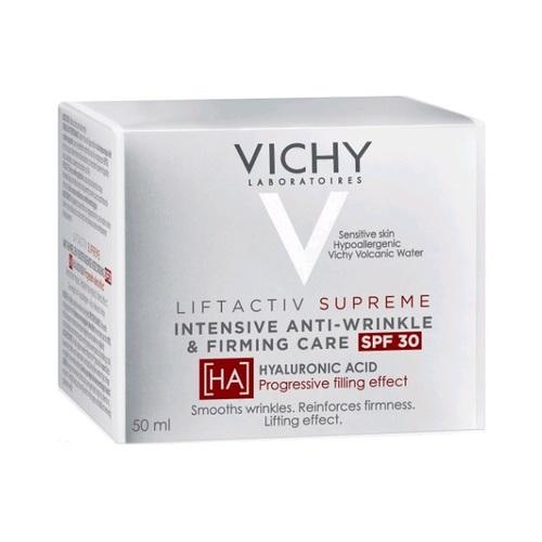 ВИШИ Лифтактив Сюпрем Дневное средство для коррекции морщин, упругости кожи SPF 30 50мл - фото 1 | Сеть аптек Viridis