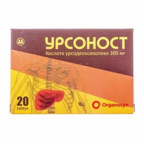 УРСОНОСТ КАПС. 300МГ №20 - фото 1 | Сеть аптек Viridis