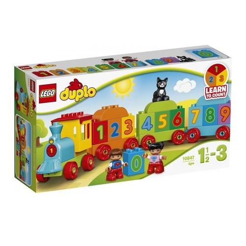 Конструктор LEGO Duplo Поезд Считай и играй - фото 1 | Сеть аптек Viridis