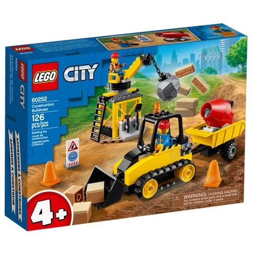 Конструктор LEGO City Строительный бульдозер - фото 1 | Сеть аптек Viridis